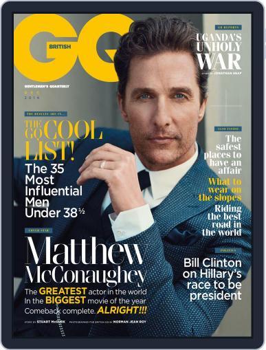 British GQ (Digital) November 6th, 2014 Issue Cover