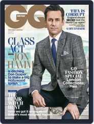 British GQ (Digital) Subscription August 7th, 2014 Issue