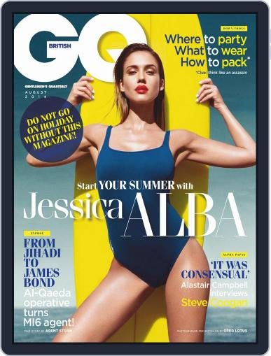 British GQ (Digital) August 1st, 2014 Issue Cover