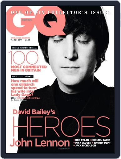 British GQ (Digital) February 6th, 2014 Issue Cover