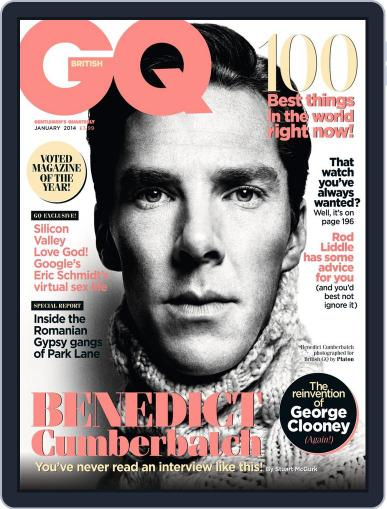 British GQ (Digital) December 4th, 2013 Issue Cover