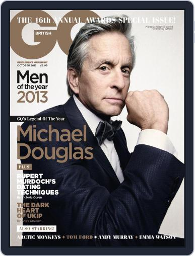 British GQ September 6th, 2013 Digital Back Issue Cover