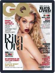 British GQ (Digital) Subscription July 4th, 2013 Issue