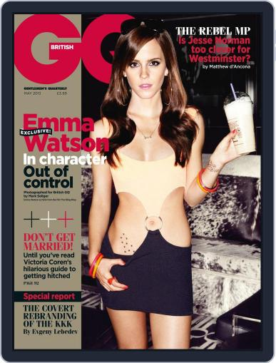 British GQ (Digital) April 3rd, 2013 Issue Cover