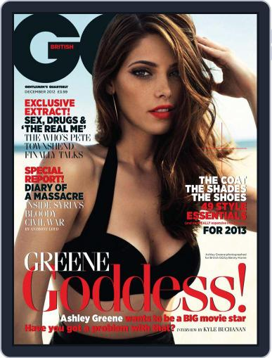 British GQ (Digital) October 31st, 2012 Issue Cover