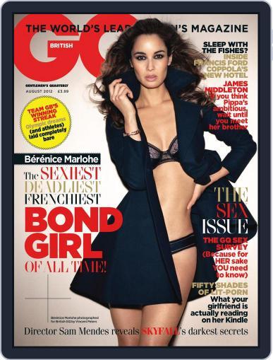 British GQ (Digital) July 4th, 2012 Issue Cover