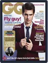 British GQ (Digital) Subscription May 30th, 2012 Issue