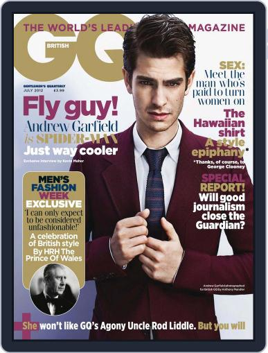 British GQ (Digital) May 30th, 2012 Issue Cover