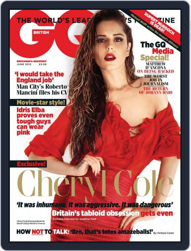 British GQ (Digital) May 2nd, 2012 Issue Cover