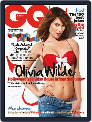 British GQ (Digital) March 1st, 2012 Issue Cover