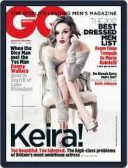 British GQ (Digital) Subscription February 3rd, 2012 Issue