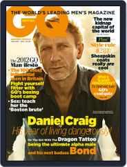 British GQ (Digital) Subscription December 2nd, 2011 Issue