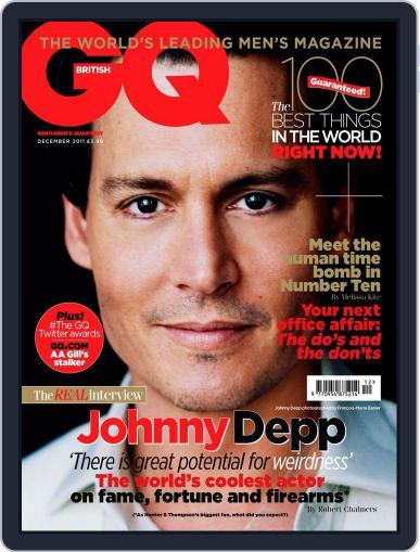 British GQ (Digital) November 9th, 2011 Issue Cover