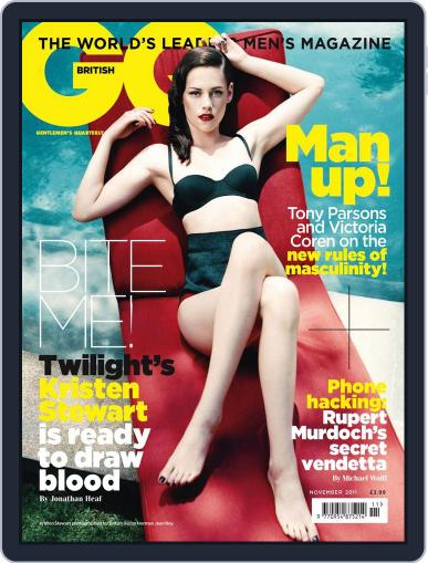 British GQ (Digital) October 14th, 2011 Issue Cover