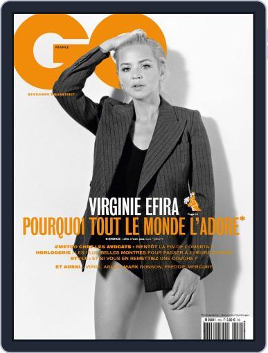 Gq France (Digital) November 1st, 2018 Issue Cover