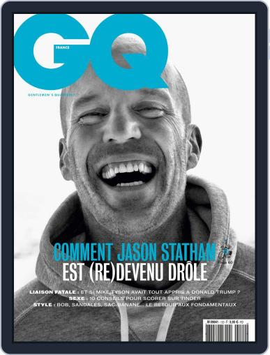 Gq France July 18th, 2018 Digital Back Issue Cover