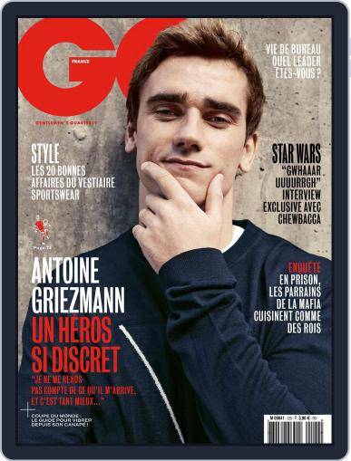 Gq France (Digital) May 1st, 2018 Issue Cover