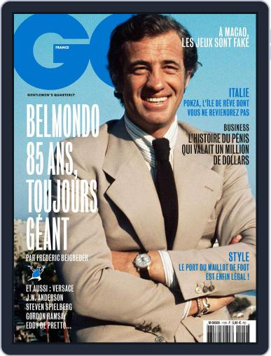 Gq France (Digital) March 21st, 2018 Issue Cover