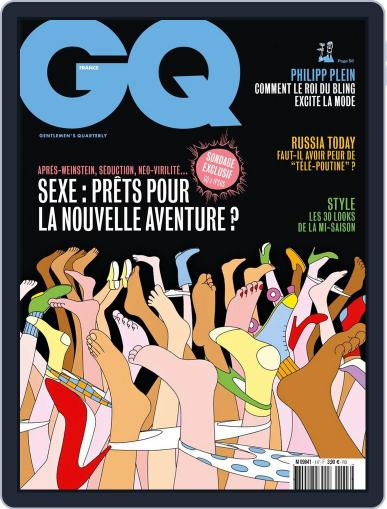 Gq France (Digital) January 24th, 2018 Issue Cover