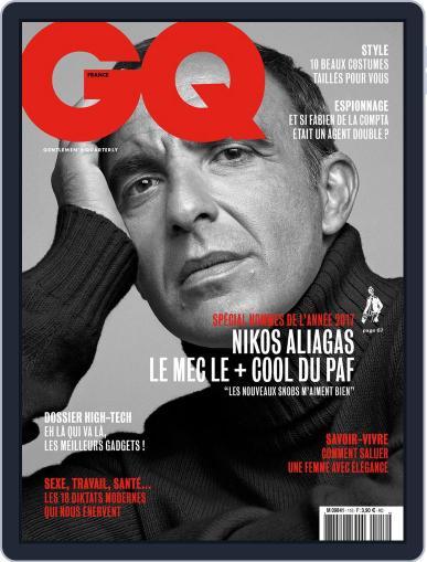 Gq France December 1st, 2017 Digital Back Issue Cover