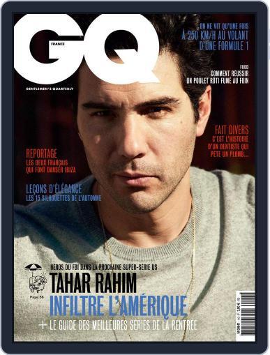 Gq France September 1st, 2017 Digital Back Issue Cover