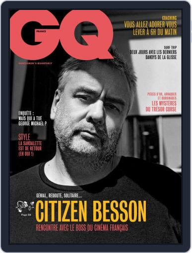Gq France (Digital) August 1st, 2017 Issue Cover