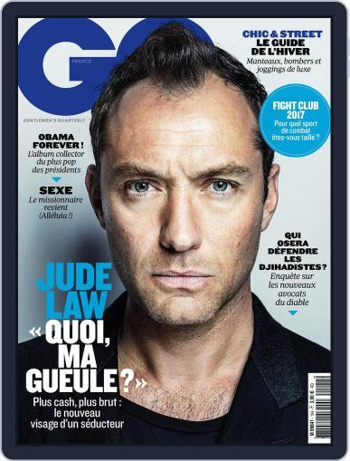 Gq France November 1st, 2016 Digital Back Issue Cover