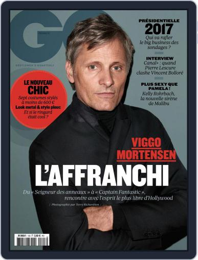 Gq France October 1st, 2016 Digital Back Issue Cover