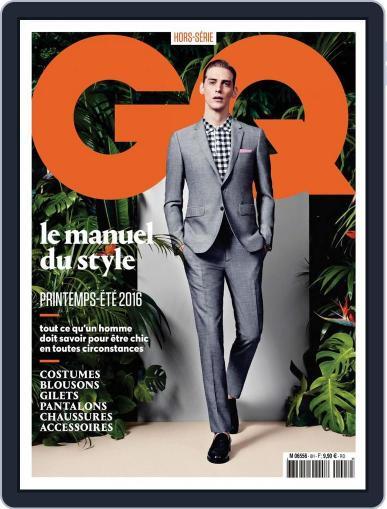 Gq France April 1st, 2016 Digital Back Issue Cover