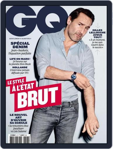 Gq France (Digital) March 17th, 2016 Issue Cover