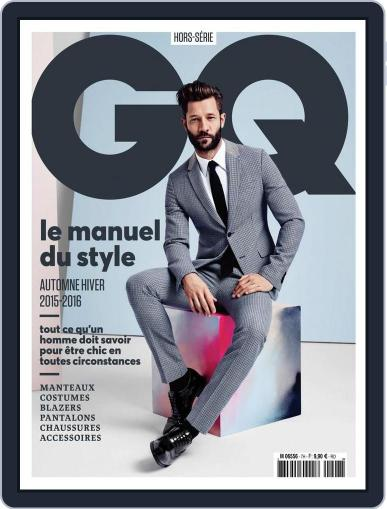 Gq France (Digital) October 18th, 2015 Issue Cover