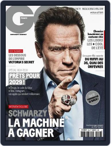 Gq France (Digital) July 9th, 2015 Issue Cover