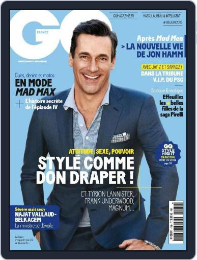 Gq France May 12th, 2015 Digital Back Issue Cover