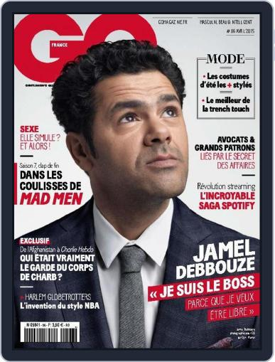 Gq France March 17th, 2015 Digital Back Issue Cover