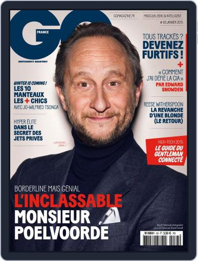 Gq France (Digital) December 17th, 2014 Issue Cover
