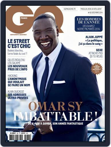 Gq France (Digital) November 19th, 2014 Issue Cover