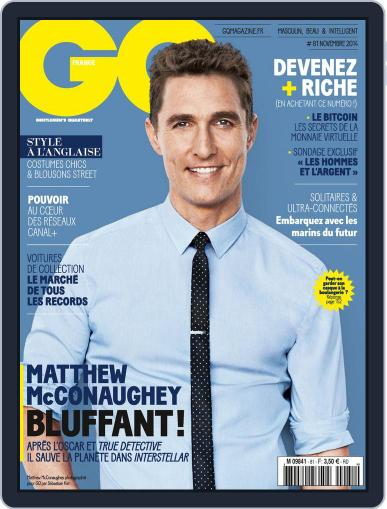 Gq France (Digital) October 14th, 2014 Issue Cover