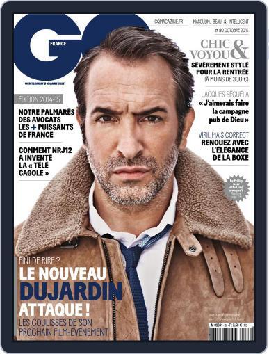 Gq France (Digital) September 16th, 2014 Issue Cover