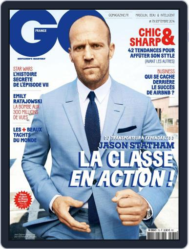 Gq France August 12th, 2014 Digital Back Issue Cover