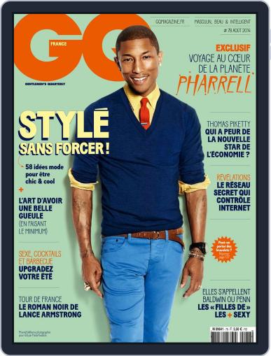Gq France (Digital) July 8th, 2014 Issue Cover