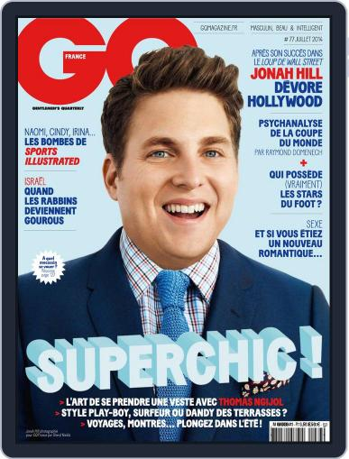 Gq France June 10th, 2014 Digital Back Issue Cover