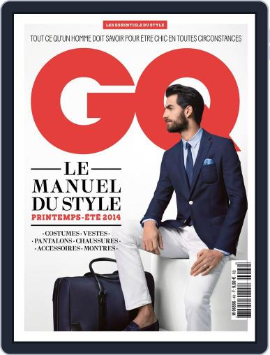 Gq France April 9th, 2014 Digital Back Issue Cover