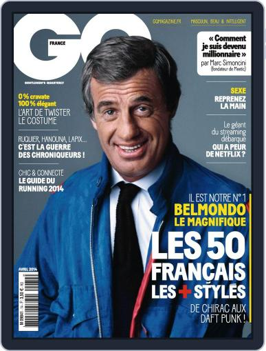 Gq France (Digital) March 18th, 2014 Issue Cover