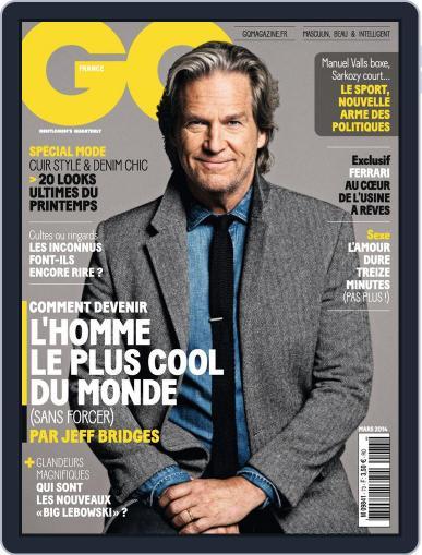 Gq France February 11th, 2014 Digital Back Issue Cover