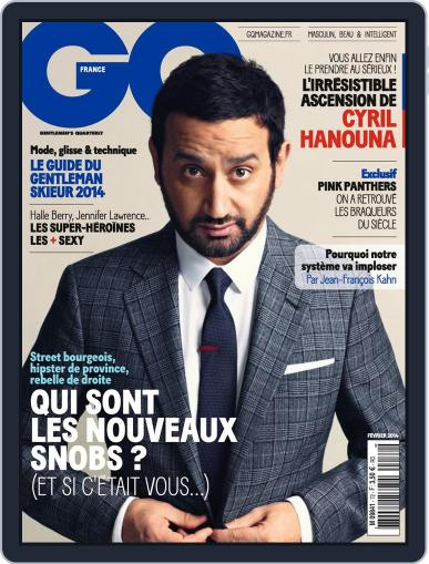 Gq France (Digital) January 14th, 2014 Issue Cover