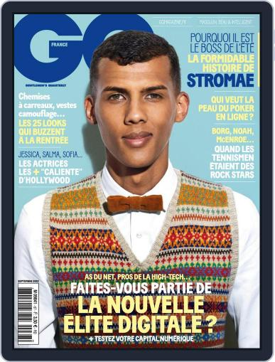 Gq France (Digital) August 13th, 2013 Issue Cover