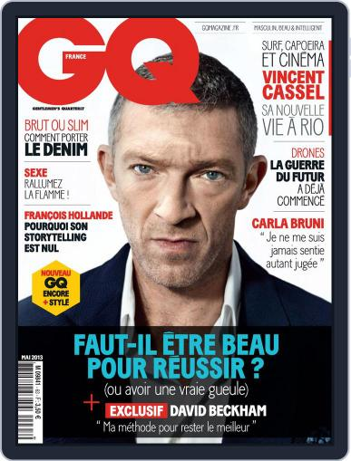 Gq France (Digital) April 16th, 2013 Issue Cover