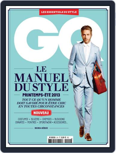 Gq France (Digital) March 28th, 2013 Issue Cover