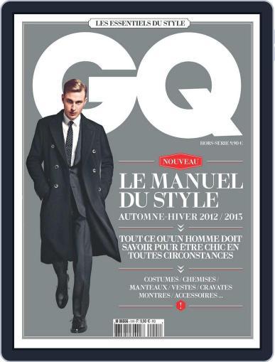 Gq France November 1st, 2012 Digital Back Issue Cover