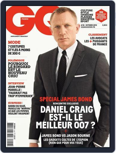 Gq France (Digital) September 21st, 2012 Issue Cover